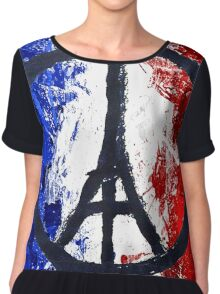 We love France tshirt Chiffon Top