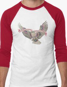 Ill-Eagle Men's Baseball ¾ T-Shirt