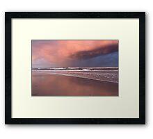 Storm over Kingscliff Beach  Framed Print