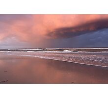 Storm over Kingscliff Beach  Photographic Print