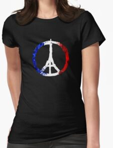 We love France tshirt Womens Fitted T-Shirt