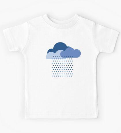 We love the rain! weather, cloud, water, autumn, spring, water, raindrop  Kids Tee