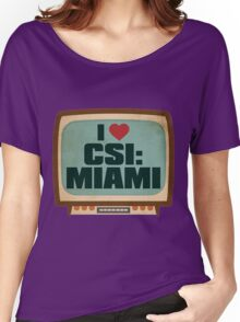 CSI MIAMI Women's Relaxed Fit T-Shirt