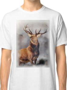 MONARCH OF THE GLEN, Digital Painting of this famous Stag Classic T-Shirt