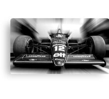 Ayrton Senna (Black & White) Canvas Print