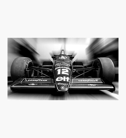 Ayrton Senna (Black & White) Photographic Print