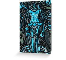 Tarot 1.- Thw Magus Greeting Card