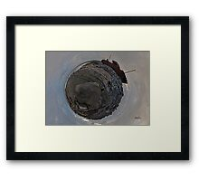 Shipwreck on Inisheer: The Plassey Wreck Framed Print