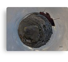 Shipwreck on Inisheer: The Plassey Wreck Canvas Print
