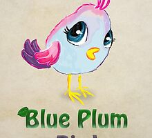Blue Plum Bird by Princess-Suki