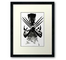 wolverine x-men Framed Print