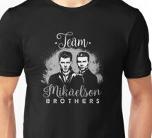 Team Mikaelson Brothers.  Unisex T-Shirt