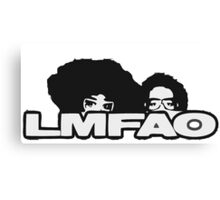 LMFAO Logo Canvas Print