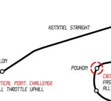 Kimi Raikkonen - King of Spa! Sticker