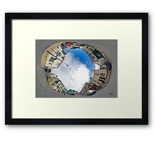 Kilcar Crossroads - Sky in Framed Print