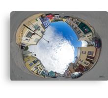Kilcar Crossroads - Sky in Canvas Print