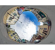 Kilcar Crossroads - Sky in Photographic Print
