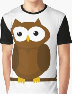 Cute Owl  Graphic T-Shirt