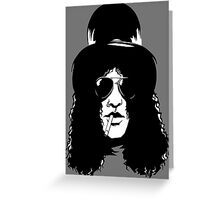 slash picture Greeting Card