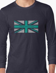 Lewis Hamilton (Team colours) Long Sleeve T-Shirt