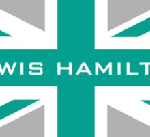 Lewis Hamilton (Team colours) Sticker