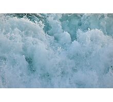 BUBBLES ON THE OCEAN Photographic Print