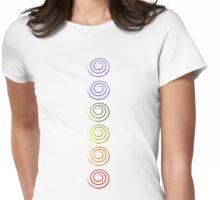 Chakra Balance Womens Fitted T-Shirt