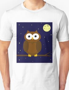 Cute Owl  Unisex T-Shirt