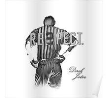 Respect Derek Jeter Poster