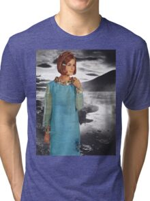 The Lady of the Loch Tri-blend T-Shirt