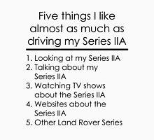 5 Things I Like - Series 2A Unisex T-Shirt