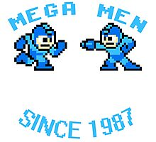 MEGA MEN ROCKMAN GAME Photographic Print