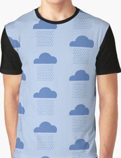 We love weather! rain, clouds, water, raindrop, spring, summer, autumn Graphic T-Shirt