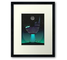 Into the darkest night Framed Print