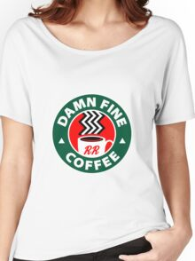 Damn Fine Coffee - Twin Peaks Women's Relaxed Fit T-Shirt