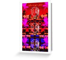 ReZero Rem Vaporwave, re zero kara hajimeru isekai seikatsu Greeting Card