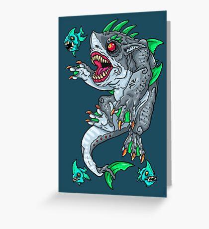 Goblin Shark Greeting Card
