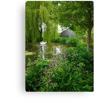 Westonbury Mill Water Garden Canvas Print