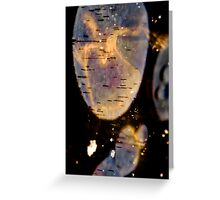 the ice mirror.. Greeting Card