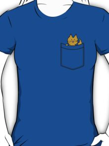 Cat in a pocket - colourised version T-Shirt