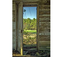 When One Door Closes, Another Opens Photographic Print