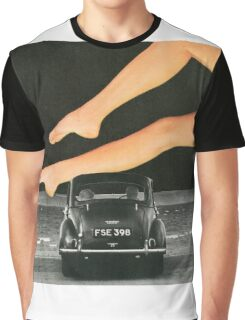 A Day At The Seaside Graphic T-Shirt