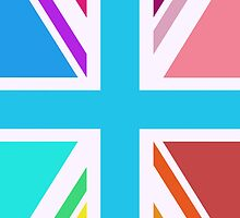 Union Jack/Flag Design Multicoloured by NataliePaskell