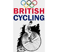 British Cycling Photographic Print