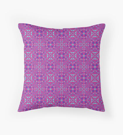 Violet Robins Throw Pillow