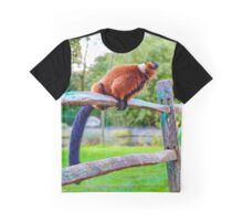 monkey pee break Graphic T-Shirt