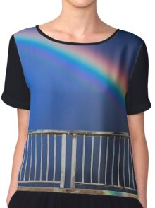 urban rainbow Chiffon Top