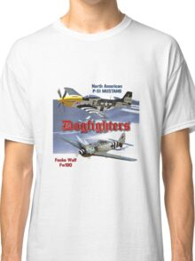 Dogfighters: P-51 vs Fw190 Classic T-Shirt