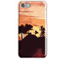 Fijian Sunset iPhone Case/Skin