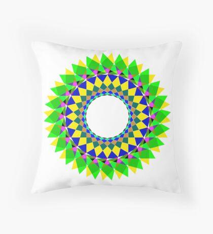 mandala . harmony Throw Pillow